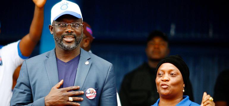 Liberia: George Weah élu président