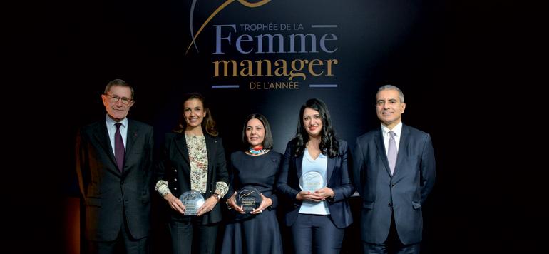 Les prix du Trophée de la femme manager de l'année 2017 décernés