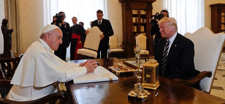 Palestine : Le pape plaide pour une solution à deux Etats