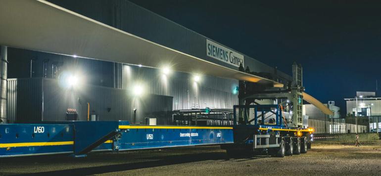 Tanger: Siemens Gamesa exporte sa première pale éolienne «made in Morocco»