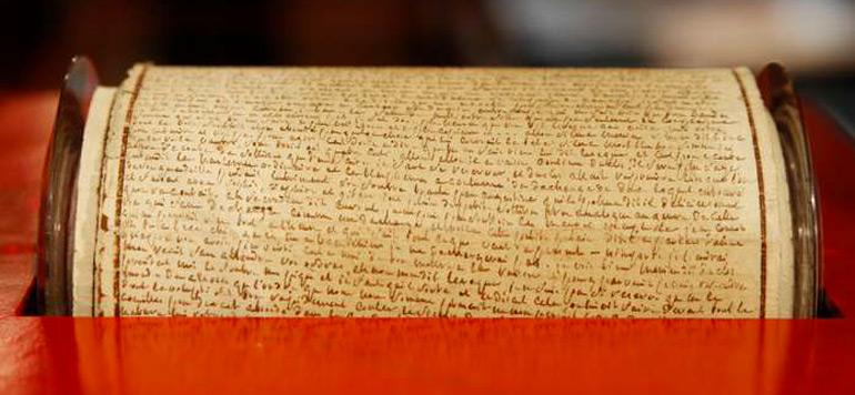 Un manuscrit d'Honoré de Balzac adjugé à plus d'un million d'euros