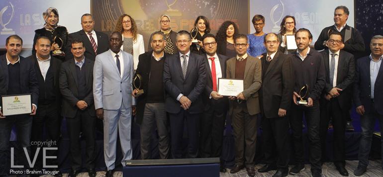 Sept entreprises ont décroché les Trophées de la prévention 2017 de Wafa Assurance