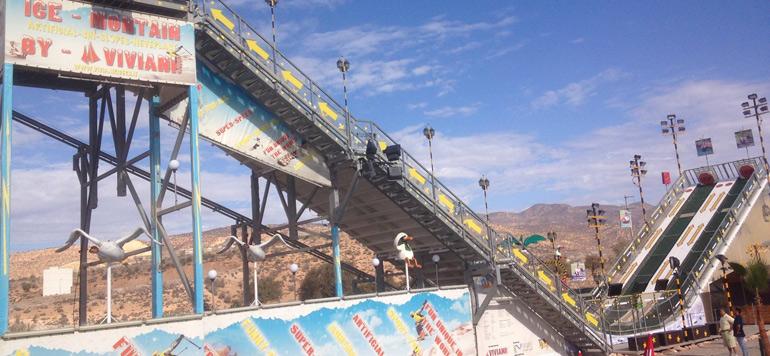 X-treme park, le nouveau parc d'attractions d'Agadir