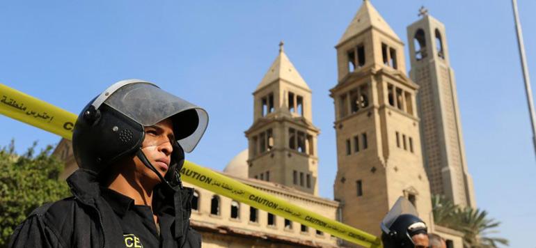 Égypte : Neuf morts et dix blessés dans une attaque contre une église au sud du Caire