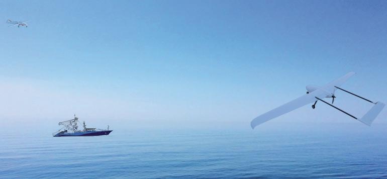 Atlanspace, un drone intelligent marocain pour combattre la pêche illégale