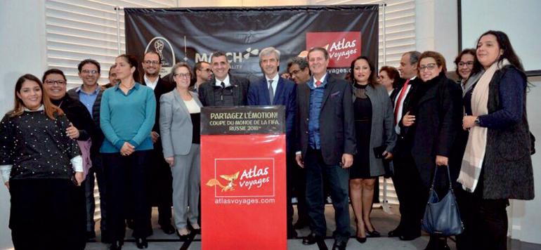 Atlas Voyages commercialise en exclusivité les packages de la Coupe du Monde