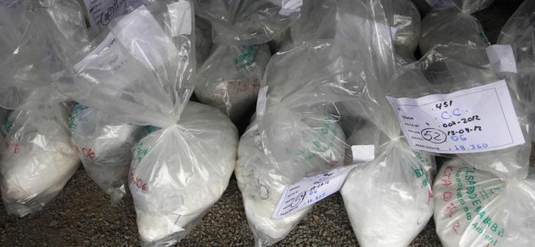 Belgique : Sept tonnes de cocaïne découvertes entre des bananes dans le port d'Anvers