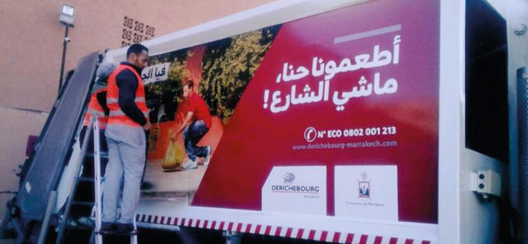Derichbourg en campagne pour préserver l'environnement de Marrakech