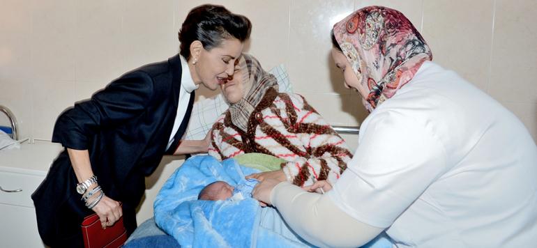 La Princesse Lalla Meryem préside la cérémonie de présentation du bilan de 30 années d'action au service du droit de l'enfant à la vaccination