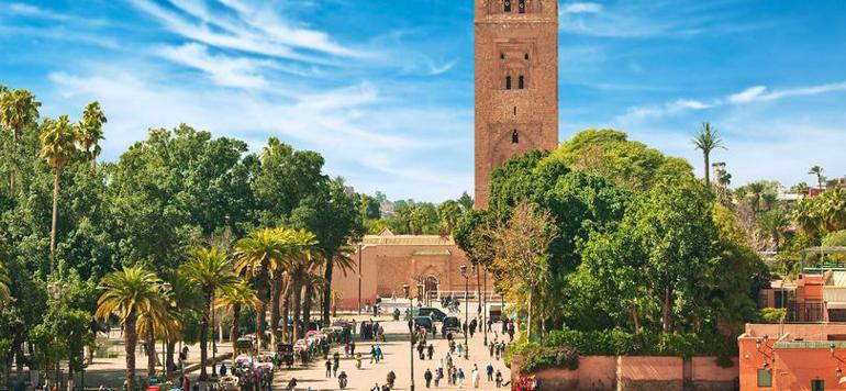 Marrakech, ville verte
