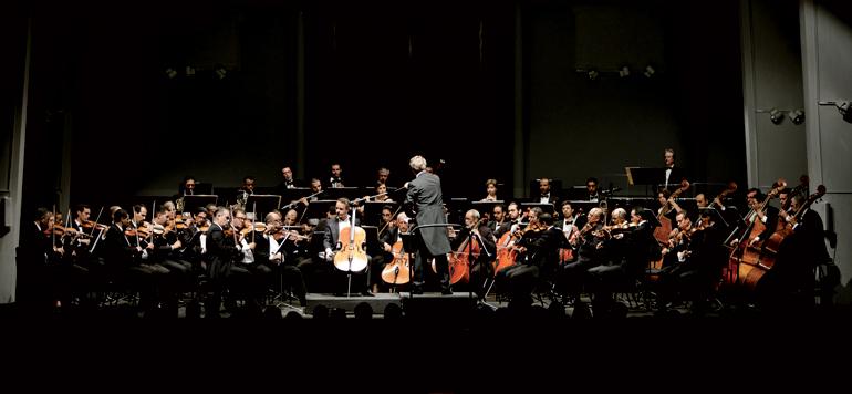 Les comédies musicales par l'Orchestre Philharmonique du Maghreb