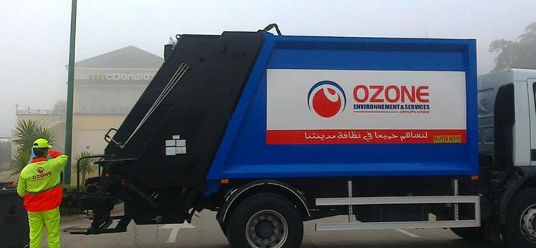Ozone ramassera les ordures à Chefchaouen