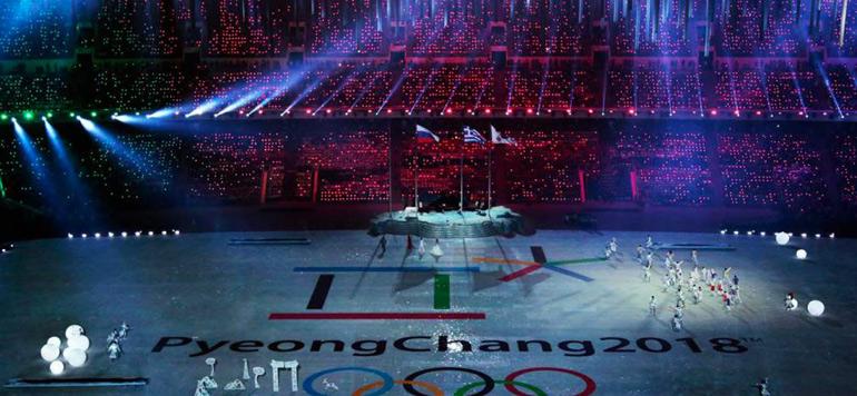 Ouverture officielle à Pyeongchang des Jeux olympiques d'hiver 2018