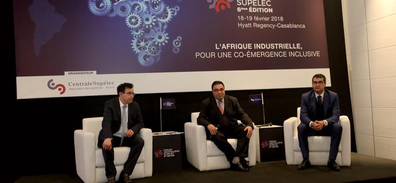 Les centraliens et Supélec du Maroc se penchent sur l'industrialisation de l'Afrique