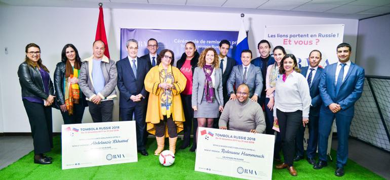 Russie 2018 : RMA récompense ses premiers clients