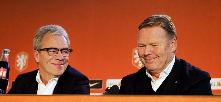 Football : Ronald Koeman nommé sélectionneur des Pays-Bas