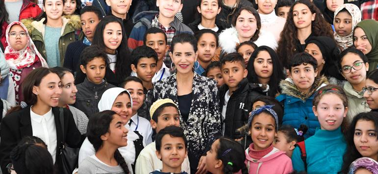 SAR la Princesse Lalla Meryem en première ligne pour la cause «Femme et enfant en situation de précarité»