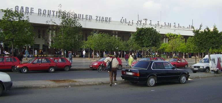 Casablanca : la Ville veut confier la gestion de la gare Ouled Ziane à Casa Transport