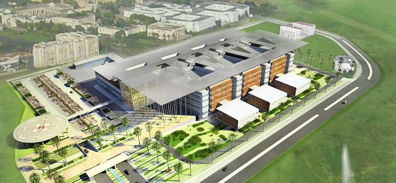La fondation Cheikh Khalifa ouvrira un hôpital universitaire à Bouskoura en 2019