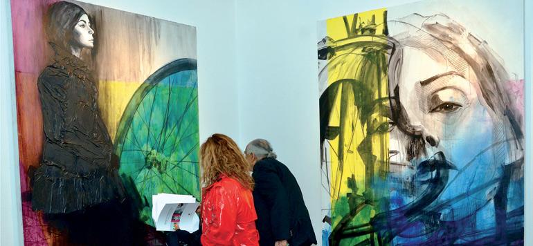De jeunes espoirs de l'art à la Galerie 38