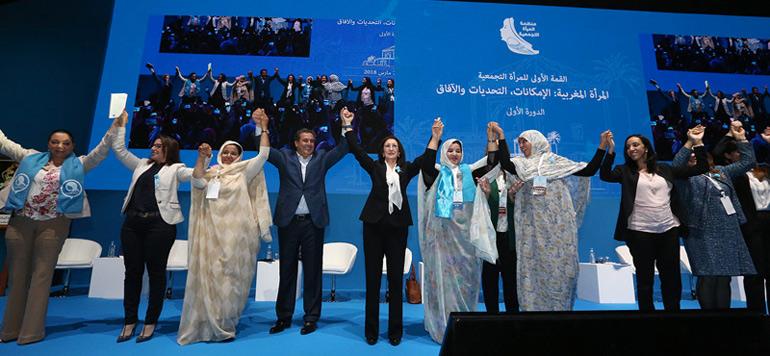 Sommet de la femme Rniste à Marrakech
