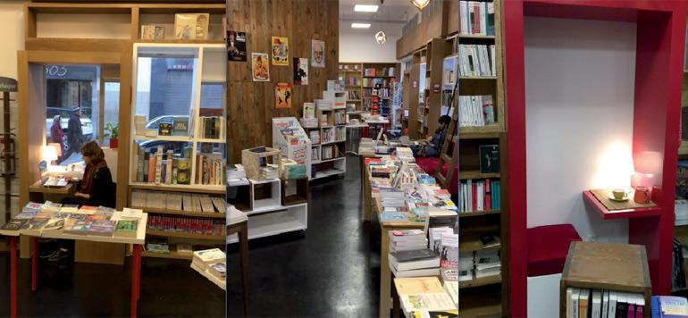 Le Carrefour des livres ouvre son «Coffee & books»