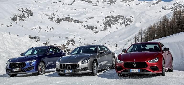 Maserati repousse les limites de la berline sportive et du SUV luxueux