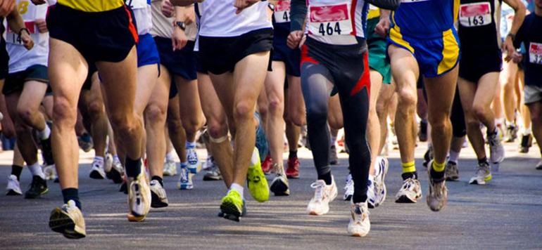 Une course pour la paix