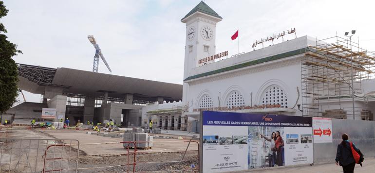 ONCF : les chantiers structurants seront achevés d'ici la fin de l'année
