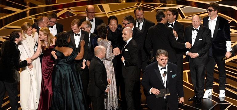 Oscars 2018 : « The Shape of Water » sacré meilleur film