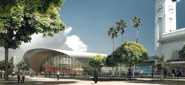 Les travaux de la gare Casa-voyageurs enregistrent un avancement global de 80 %