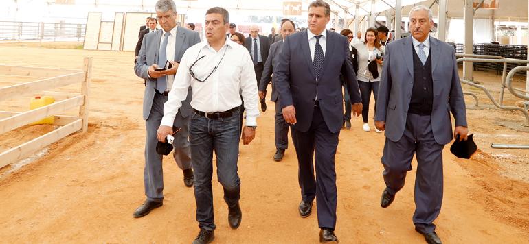 Aziz Akhannouch à Meknès pour s'enquérir des préparatifs du SIAM