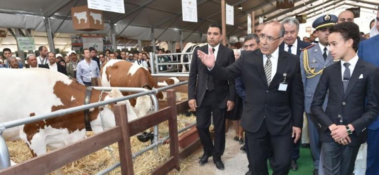Le Prince Héritier Moulay El Hassan préside à Meknès l'ouverture du SIAM 2018