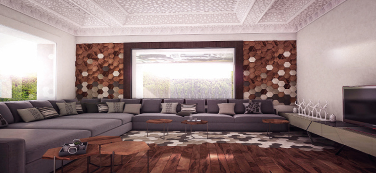 Architecture d'intérieur : apaisement et chaleur