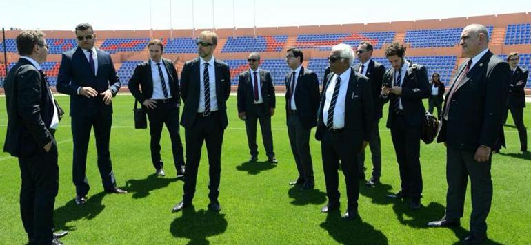 Visite de la task force de la Fifa : Marrakech, première étape