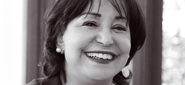 Aicha Laasri Amrani, candidate à la présidence de l'association AFEM