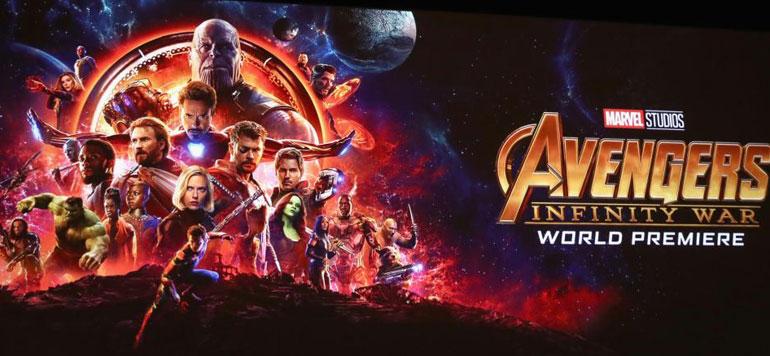 Le film «Avengers : Infinity Wa» dépasse le milliard de dollars au box-office