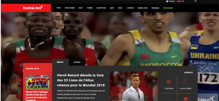 Un nouveau site d'information sportive