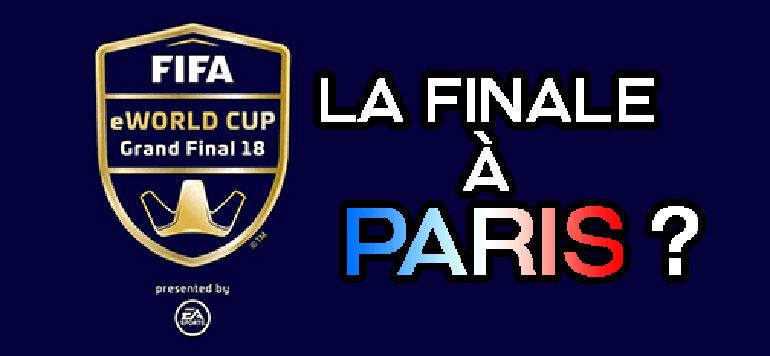Fifa eWorld : Paris abritera la Coupe du monde eClub