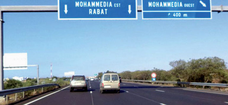Autoroute Casa-Rabat : Fin des travaux du pont autoroutier au niveau de Mohammedia