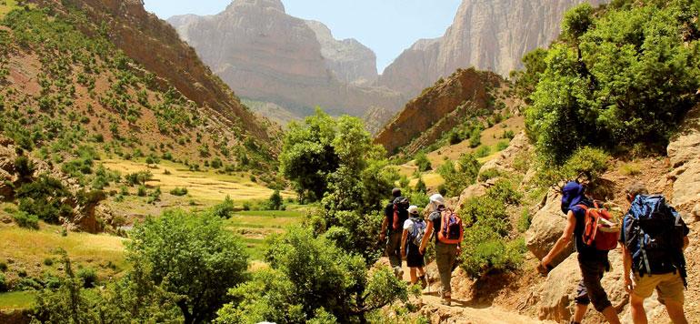 Randonnée : un gros potentiel à exploiter  dans les zones montagneuses