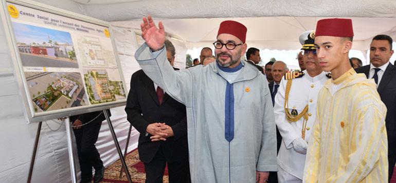Le Souverain lance à Casablanca le chantier de «L'école de deuxième chance»