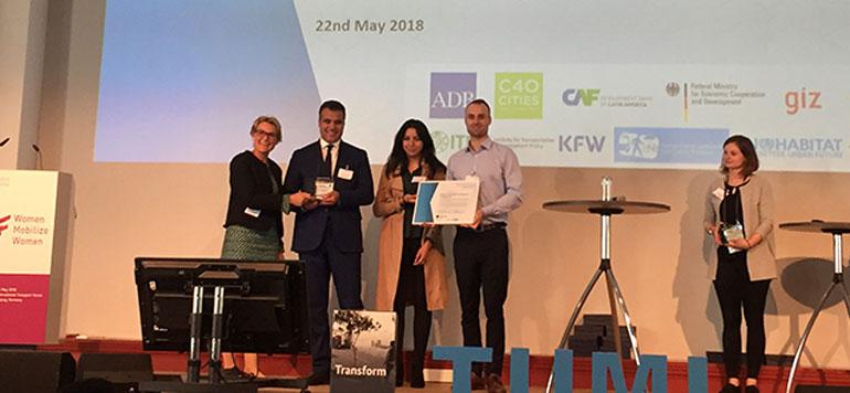 Mobilité durable : Un projet marocain de triporteurs électriques primé en Allemagne