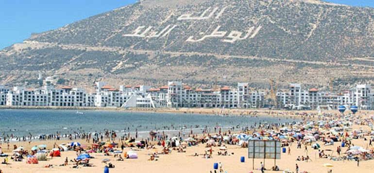 Agadir: les arrivées touristiques en hausse de 13 % pendant la première moitié de 2018