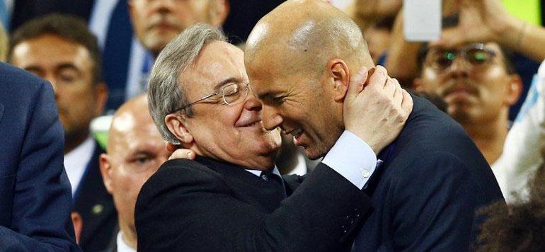 A la surprise générale, Zidane annonce son départ du Real Madrid !