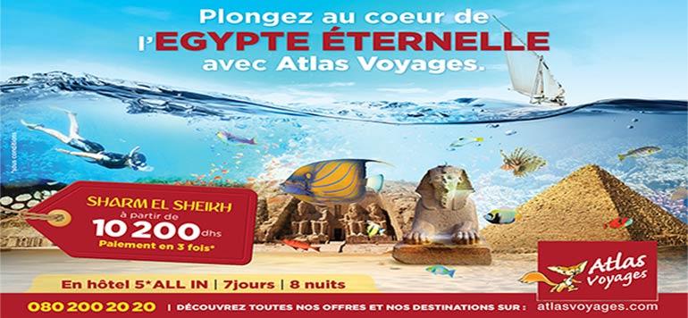 Atlas Voyages met le paquet sur l'Egypte !