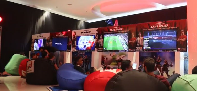 Ambiance 100% Gaming au Morocco Mall