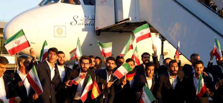 Mondial 2018 : l'Iran, première équipe arrivée en Russie