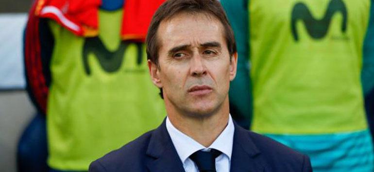 Julen Lopetegui, entraîneur du Real Madrid après le Mondial