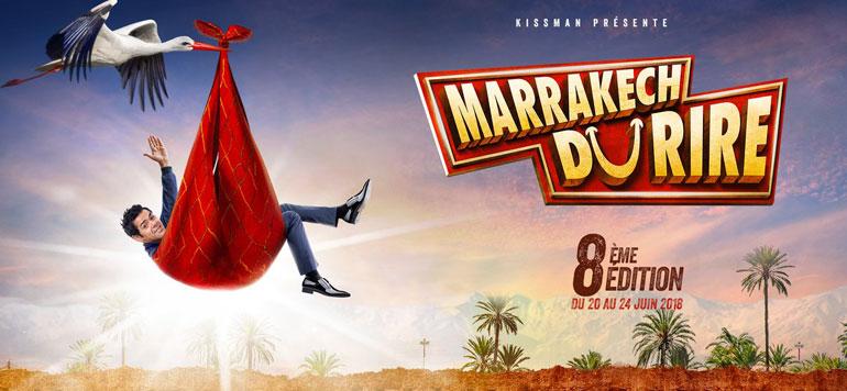 Dérision et bonne humeur au Marrakech du Rire 2018